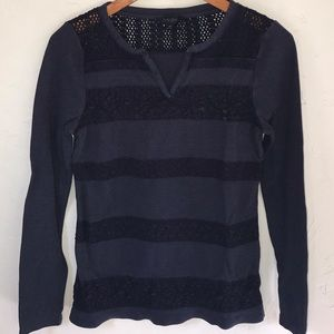 Lucky Brand dark blue long sleeve